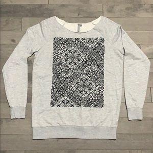 Sweaty Betty Embroidered Sweatshirt Tunic - XS